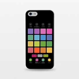 iPhone 5/5E/5s  Dj Electronic Music Mixer by Dellán (edm,electronic dance music,electronica,dj,deejay,trance,rave,gamer,hi tech,techno music)
