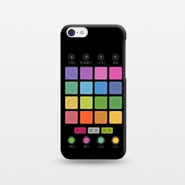 iPhone 5C  Dj Electronic Music Mixer by Dellán
