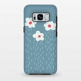Galaxy S8 plus  Beautiful Decorative Flowery Rain Clouds by