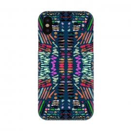 iPhone X  Tribal 5 by Susanna Nousiainen