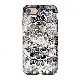 iPhone 8/7  Gray mandala by Susanna Nousiainen
