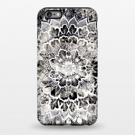 iPhone 6/6s plus  Gray mandala by Susanna Nousiainen