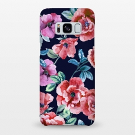 Galaxy S8+  Red wildroses by Susanna Nousiainen