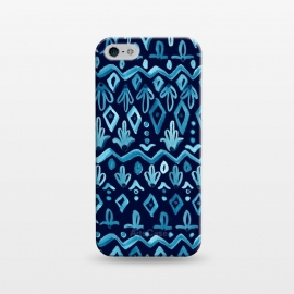 iPhone 5/5E/5s  Mya Watercolor - Blue by Heather Dutton