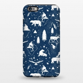 iPhone 6/6s plus  Arctic Circle - Navy Blue by Heather Dutton