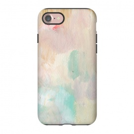 iPhone 8/7  Pastel Acrylic by Susanna Nousiainen