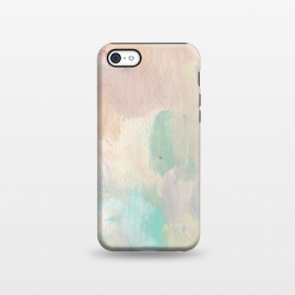 iPhone 5C  Pastel Acrylic by Susanna Nousiainen