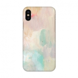 iPhone Xs/X  Pastel Acrylic by Susanna Nousiainen (paint,panited,abstract,acrylic,wall-art)
