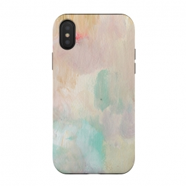iPhone X  Pastel Acrylic by Susanna Nousiainen (paint,panited,abstract,acrylic,wall-art)