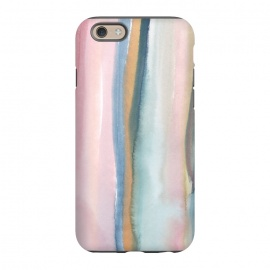 iPhone 6/6s  Watercolor stripe by Susanna Nousiainen