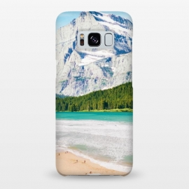 Galaxy S8+  The Perfect Vacay by Uma Prabhakar Gokhale (collage, digital manipulation, paint filter, surrealism, paint effect, nature, landscape, ocean, beach, mountain, wild, wild life, vacation, travel, snow)