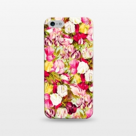 iPhone 5/5E/5s  Sweet & Sour by Uma Prabhakar Gokhale (graphic, acrylic, pattern, floral, nature, blossom, flowers, bloom, summer, pink, blush, bliss, botanical)