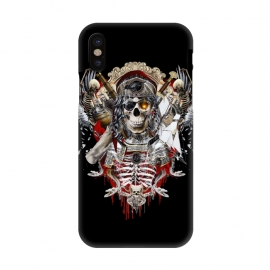 iPhone X  Pirate Skull by