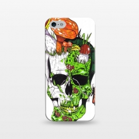 iPhone 5/5E/5s  Old Skull Butterfly by Varo Lojo