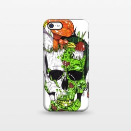 iPhone 5C  Old Skull Butterfly by Varo Lojo