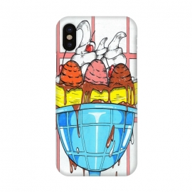 iPhone X  Banana split by Varo Lojo