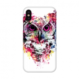 iPhone X  Owl by