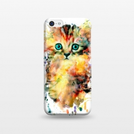 iPhone 5C  Kitten by Riza Peker