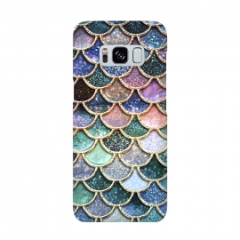 Galaxy S8  Multicolor Metal Mermaid Scales by Utart