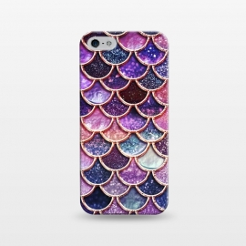iPhone 5/5E/5s  Multicolor Pink Mermaid Scales by Utart