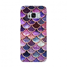 Galaxy S8  Multicolor Pink Mermaid Scales by Utart
