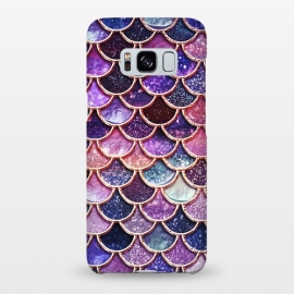 Galaxy S8+  Multicolor Pink Mermaid Scales by Utart