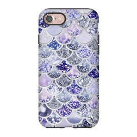 iPhone 8/7  Multicolor Purple & Violett Mermaid Scales by Utart