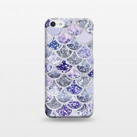Multicolor Purple & Violett Mermaid Scales by Utart