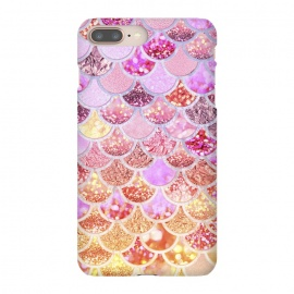 Multicolor Pink & Gold Mermaid Scales by Utart