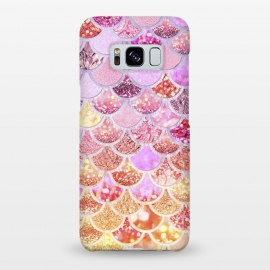 Galaxy S8+  Multicolor Pink & Gold Mermaid Scales by Utart