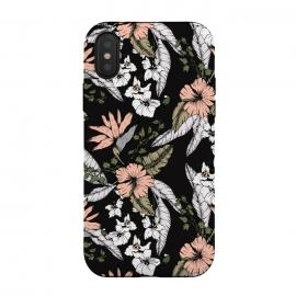 iPhone Xs / X  Exotic flowering dark by