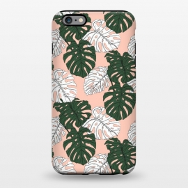 iPhone 6/6s plus  Hand drawing monstera pastel color by Mmartabc