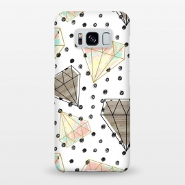 Galaxy S8+  Pattern colored diamonds and texture by Mmartabc