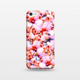 iPhone 5C  Dream of pink flamingos by Mmartabc