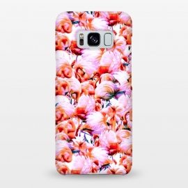 Galaxy S8+  Dream of pink flamingos by Mmartabc