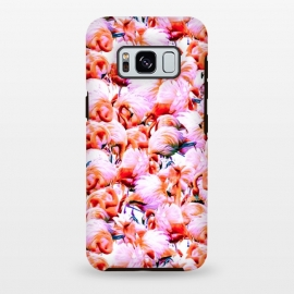 Galaxy S8 plus  Dream of pink flamingos by