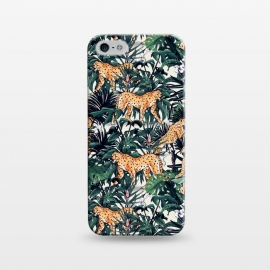 iPhone 5/5E/5s  Cheetah in the wild jungle  by Mmartabc