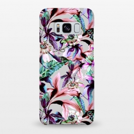 Galaxy S8+  Violet botanical paradise by Mmartabc