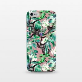 iPhone 5/5E/5s  Monkeys in the flowery jungle I by Mmartabc