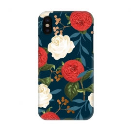 iPhone Xs / X  Floral Obsession V2 by Uma Prabhakar Gokhale
