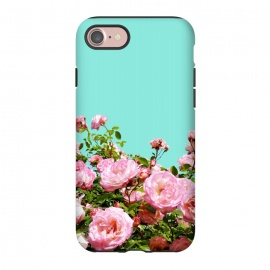 iPhone 8/7  Blissful by Uma Prabhakar Gokhale (graphic, floral, bloom, blossom, nature, roses, flowers, tropical, exotic)