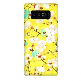 Galaxy Note 8  Cherry Blossom v2 by  (impressionism, realism, acrylic, watercolor, nature, blossom, floral, summer, tropical, exotic, bloom, botanical, flowers, cherry blossom)