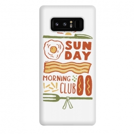 Galaxy Note 8  Morning Club by  (sausage,morning,breakfast,sun)