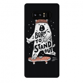 Galaxy Note 8  Stand Out by Tatak Waskitho (bear,animals,funny,skate)