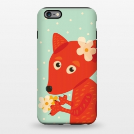 iPhone 6/6s plus  Cute Fox With Flowers by Boriana Giormova
