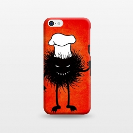 iPhone 5C  Evil Bug With Chef Hat Loves To Cook by Boriana Giormova