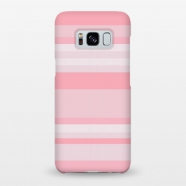 Galaxy S8+  Pink Stripes by Dhruv Narelia