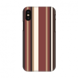 iPhone X  Vertical Stripes by Dhruv Narelia