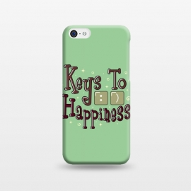 iPhone 5C  Keys To Happiness by Dhruv Narelia