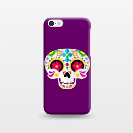 iPhone 5C  Sugar Skull by Dhruv Narelia